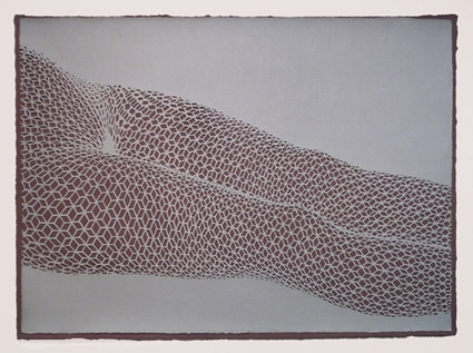 Roma2 (Blatt6), 2006, Cut-out, 49 x 67 cm