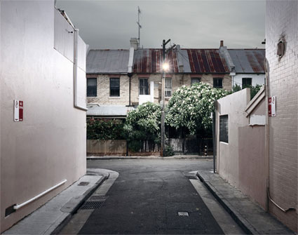 'House & Garden', 2007, 65 x 80 cm, C-Print, Diasec on Glass, framed.<br />