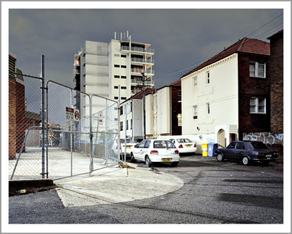 'Keep out', 2007, 65 x 76 cm, C-Print, Diasec on Glass, framed.<br />