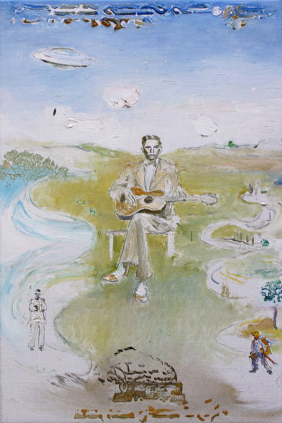 'Charlie Patton', 2014, Oil on Canvas, 46 x 31 cm