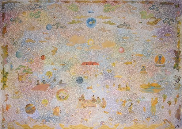 'Eternal Return', 2011, acrylic on linen, 140 x 200 cm