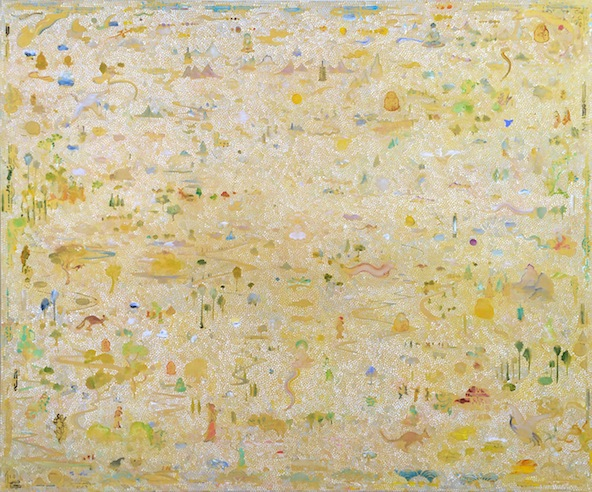 'Metamorphosis', 2014, acrylic/linen, 152 x 183 cm