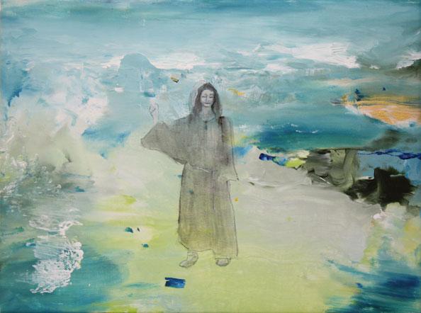 'Michael Dransfield', 2013, acrylic/canvas, 41 x 31cm