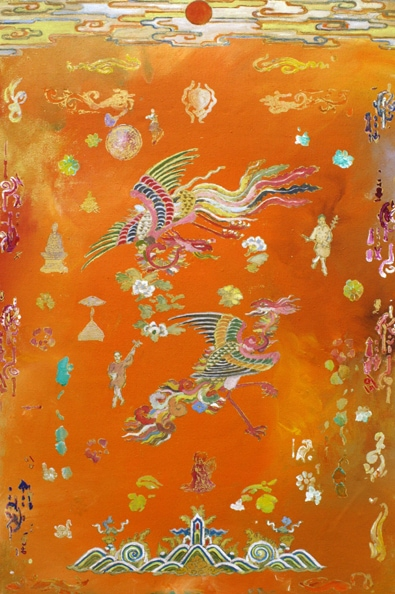 Tim Johnson, 'New Phoenix, 2010, synthetic polymer paint on canvas, 65 x 85cm