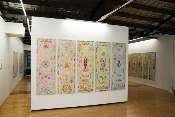 'Otherkin', 2014 installation