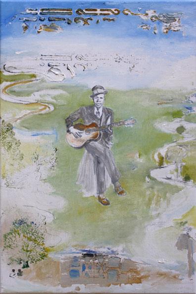 'Robert Johnson', 2014, Oil on Canvas, 46 x 31 cm
