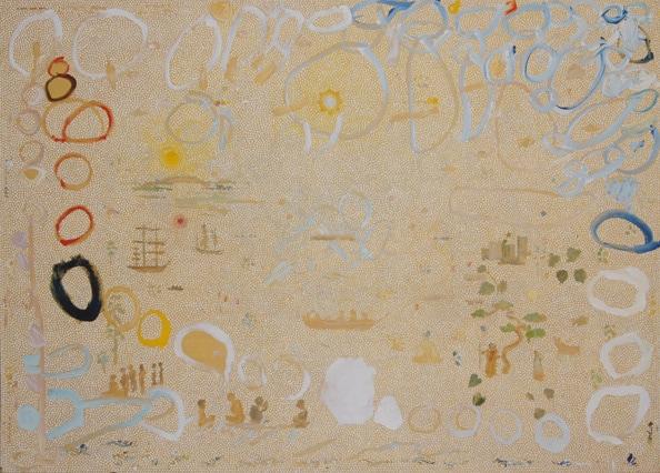 Sydney Cove', 2011, acrylic on linen, 140 x 200 cm