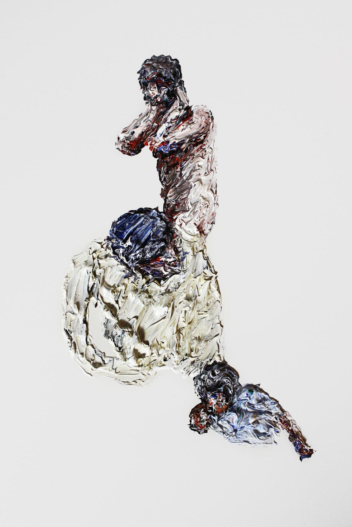 'Dissent Disorder', 2015, oil on canvas, 111 cm x 71 cm