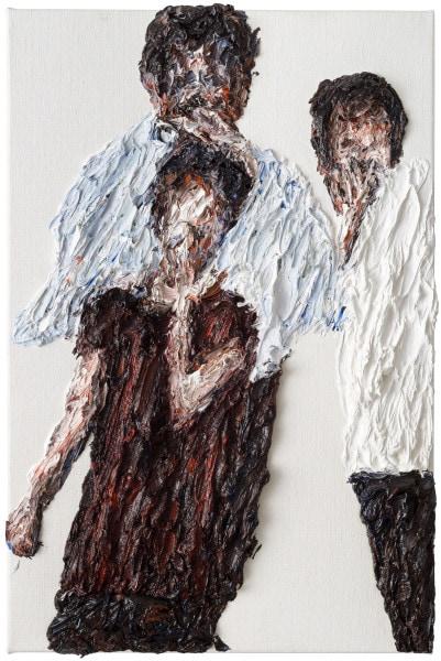 'Konstellation #1399', 2015, oil on canvas, 60 x 40 cm