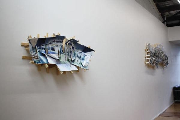 Exhibition shot of 'Sydney Interiors' exhibition at DOMINIK MERSCH GALLERY in August 2013