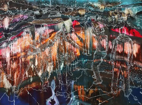 'September Session', 2016, oil on linen, 170 x 240 cm