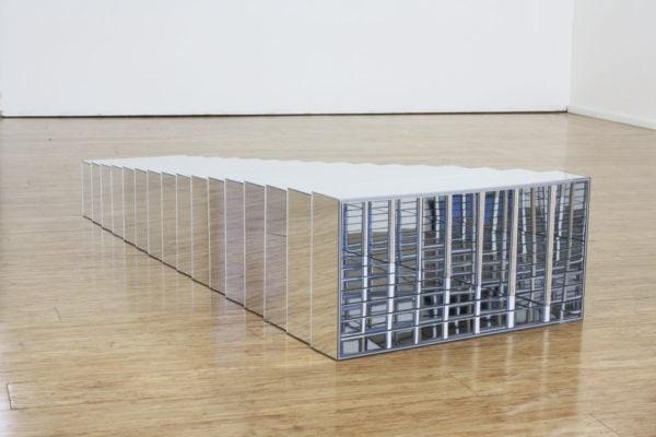 'Association Organ', 2017, acrylic mirror, 190 x 62 x 31 cm, 1 + 1a.p.
