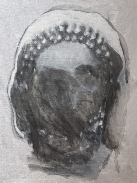 'Artemisia (the greeks)', 2016, oil on canvas, 43 x 35 cm