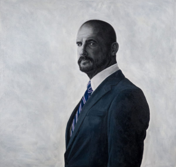 'Roy', 2016, oil on canvas, 100 x 105 cm