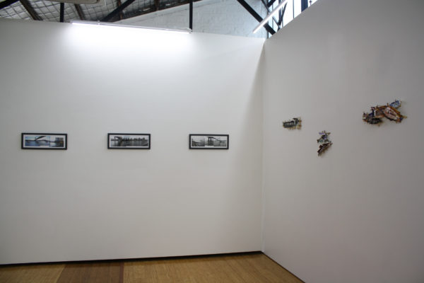 Exhibition shot of 'Sydney Interiors' exhibition at DOMINIK MERSCH GALLERY in August 2013
