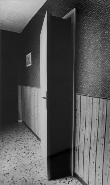 'u r 8, TOTAL ISOLIERTER TOTER RAUM (7), Giesenkirchen', 1989-91, 1/6, framed b/w hand proof print on Agfa paper, 42 x 52 cm