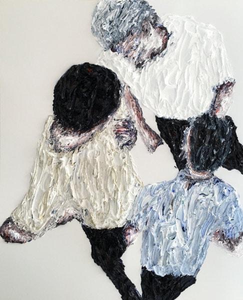 'Konstellation #7363', 2015, oil on canvas, 150 x 190 cm