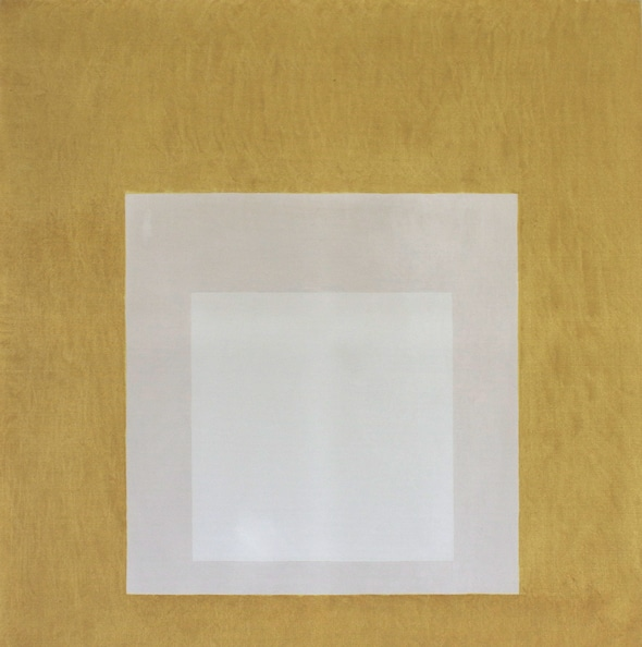 Homage to the Square: Impartial', 1966, oil on masonite, 122 x 122 cm