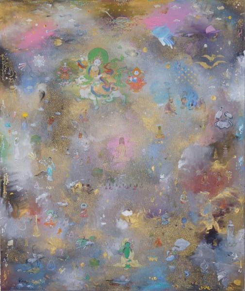 Tim Johnson, 'Meltdown', 2015, acrylic on linen, 183 x 152 cm