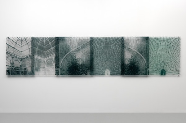 Botanical Residues (after the Great Glasshouse), 2005, duraclear, photographs on acrylic