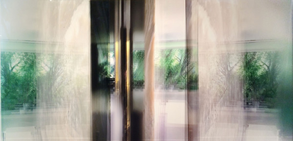 'The Brilliant Brief Moment: the glassroom the Villa Tugendhat', 2016, duraclear on acrylic,100 x 208 cm, multiple of 3
