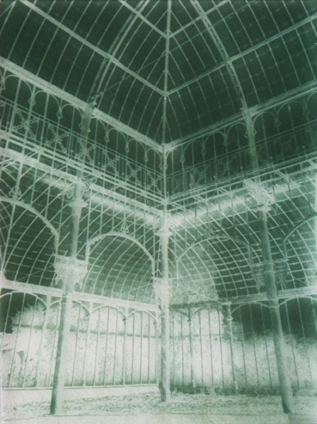 Botanical Residues (after the Great Glasshouse), 2005, duraclear, photographs on acrylic, 24 x 30 cm