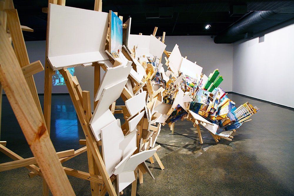 Isidro Blasco at Museu Municipal de Arte (MuMA), Brazil