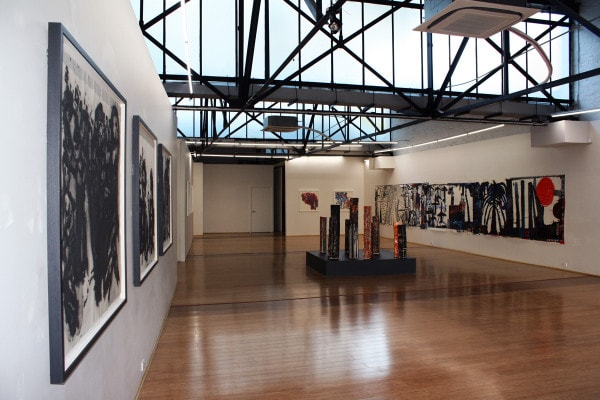 Installation shot Locust Jones 'Screenshot' exhibition 2015