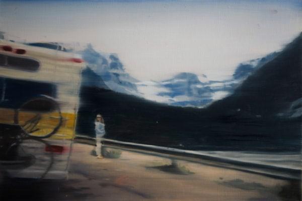 'Almanac II', 2016, Oil on linen, 31 x 45cm