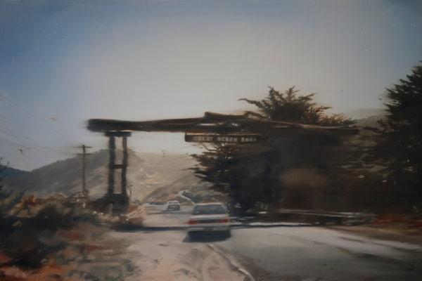 'Great Ocean Road', 2016, Oil on linen, 71 x 107cm