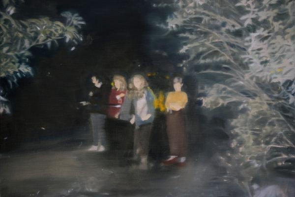 'Night Painting I', 2016, Oil on linen, 31 x 45 cm