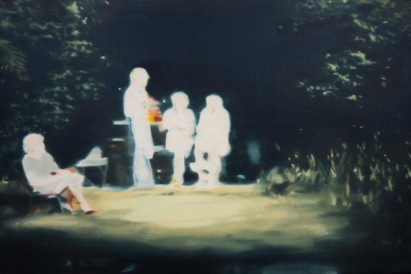 'Lot 1', 2017, oil on linen, 61 x 92 cm