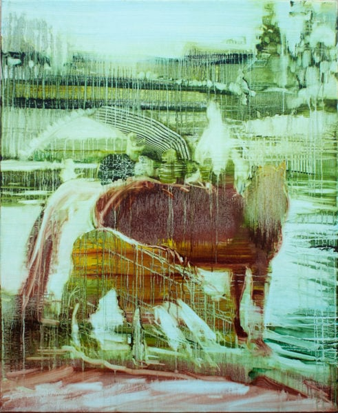 'Appleby', 2017, oil on canvas, 110 x 90 cm