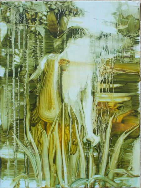 'Echo', 2017, oil on canvas, 40 x 30 cm