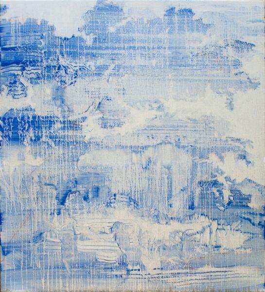 'Oak (soft)', 2017, oil on linen, 110 x 100 cm