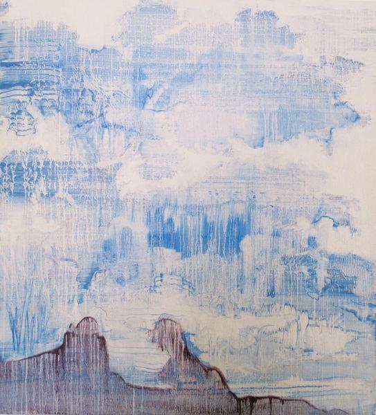 'Pale Oak', 2017, oil on linen, 110 x 100 cm