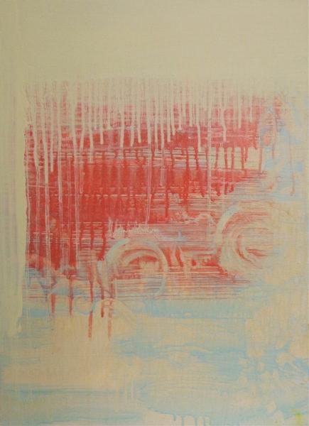 'Untitled (lemon yellow pale)' 2017, oil on canvas, 61 x 45 cm