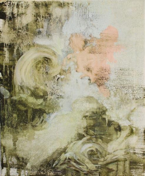 'Putti', 2017, oil on canvas, 51 x 41 cm