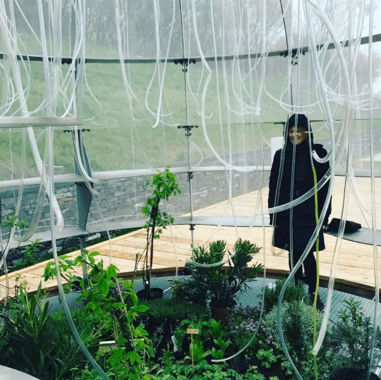 Janet Laurence at the Internationale Garten Ausstellung, Berlin