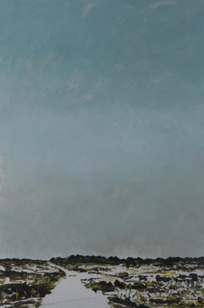 'Road 7', 2017, oil on dibond, 61 x 41 cm