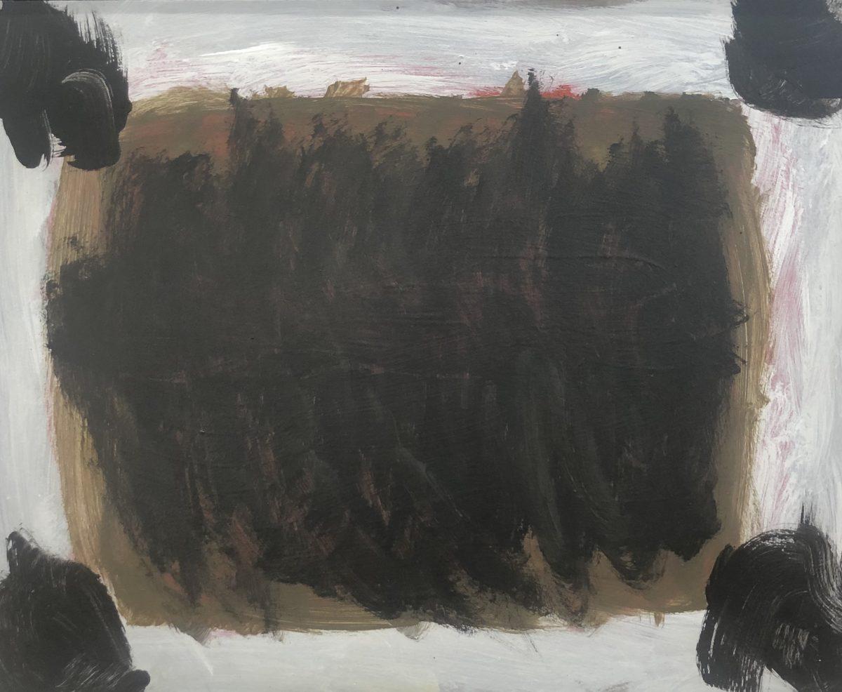 Lottie Consalvo 'Anthem 11', 2019, acrylic on board, 40 x 50 cm, framed