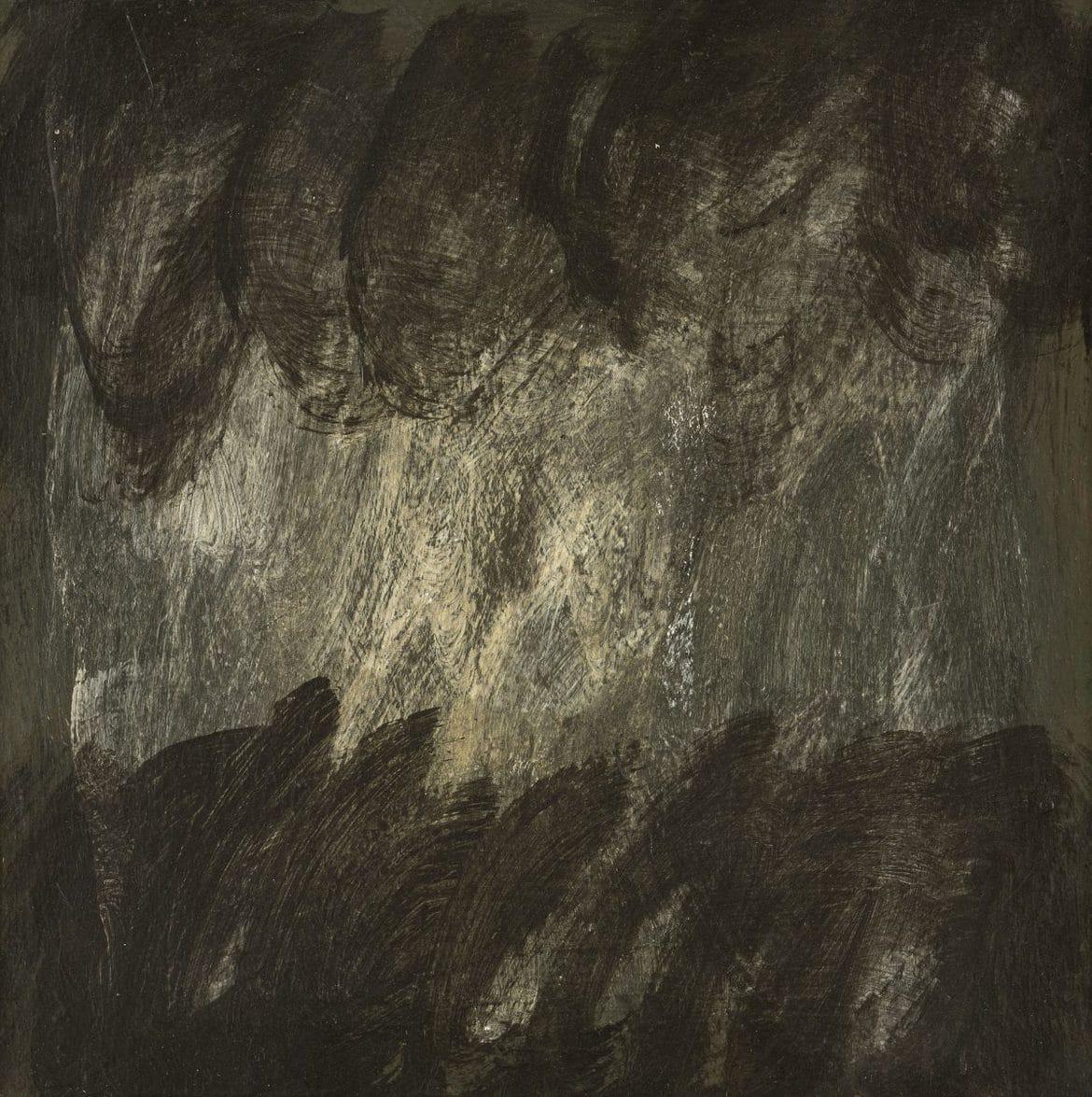 Lottie Consalvo, 'From Here 5', 2019, acrylic on board, 30 x 30 cm, framed