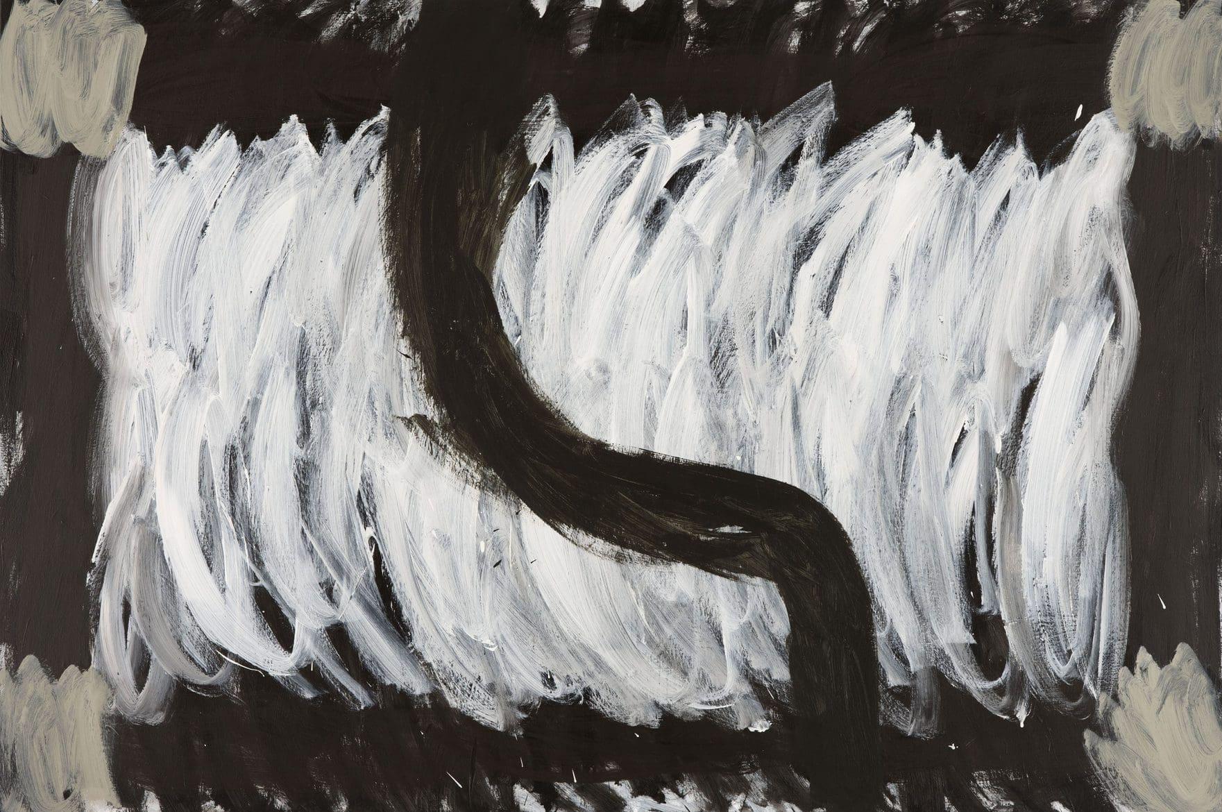 Lottie Consalvo, 'The Sea Flooded The Sky', 2019, acrylic on canvas, 122 x 183 cm