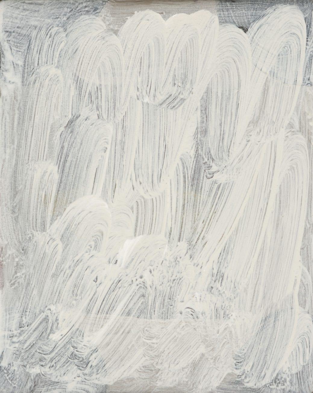 Lottie Consalvo, 'In The Distance 4', 2019, acrylic on board, 20 x 16 cm