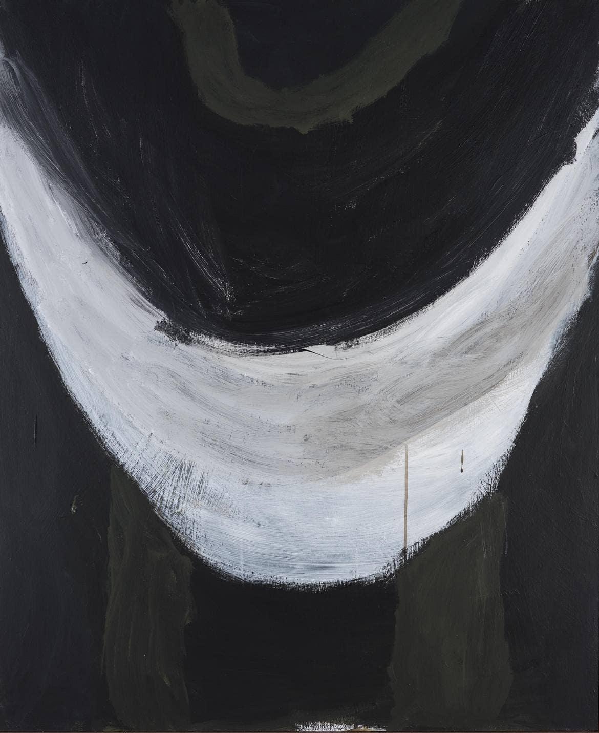 'Until End', 2018, 122 x100 cm, acrylic on board