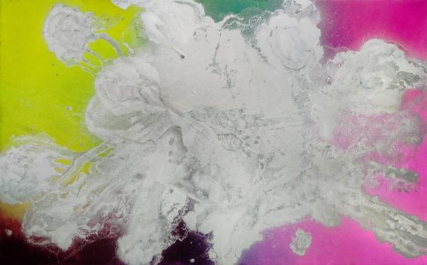 'Nicotine on Silverscreen II', 2015-16, oil on canvas, 150 x 240 cm