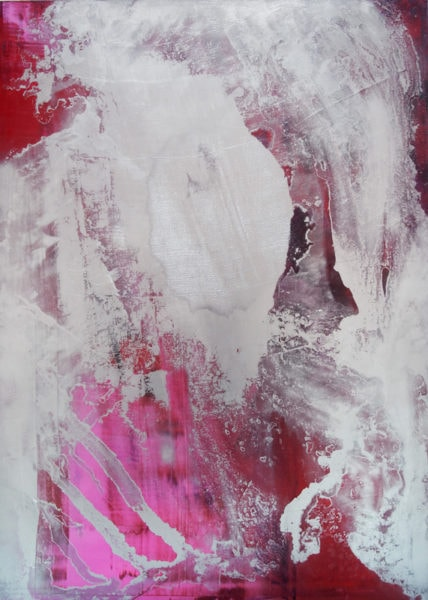 'Nicotine on Silverscreen I', 2013-14, oil on canvas, 195 x 140 cm