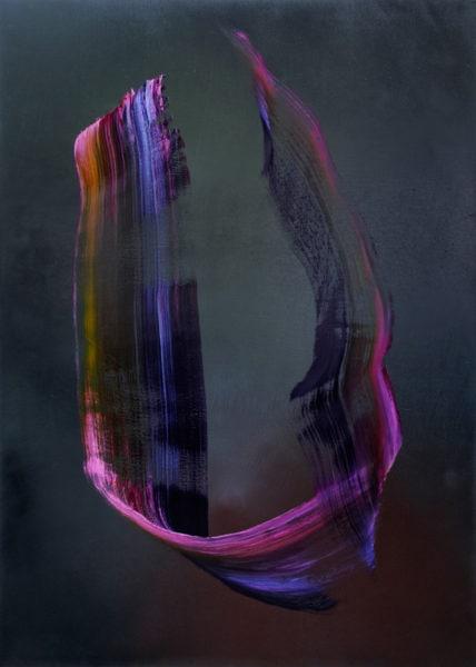 'Ones II', 2015-16, oil on canvas, 195 x 140 cm
