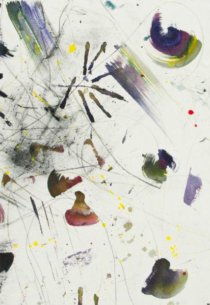 'Vacoas', 2010, mixed media, 79 x 54 cm