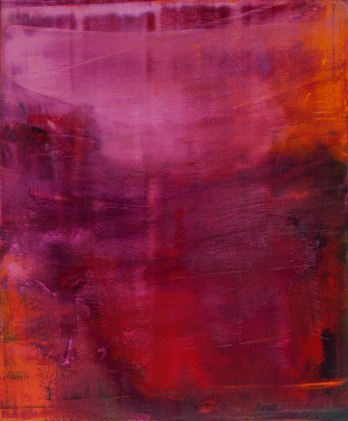 'Vienna Accumulation II', 2014-15, oil on canvas, 120 x 100 cm